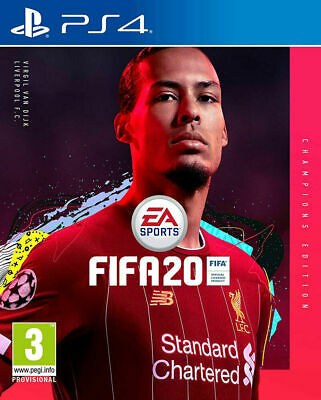 FIFA 20: Champions Edition (PS4) in Stock New & Sealed UK PAL