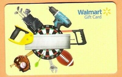 Collectible Walmart Gift Card - Fathers Day Tools - No Cash Value - FD34236