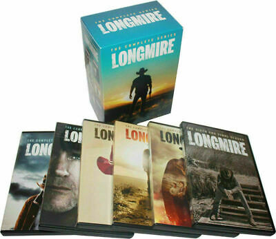Longmire: The Complete Series Seasons 1-6 Box Set, DVD, 15-Disc New