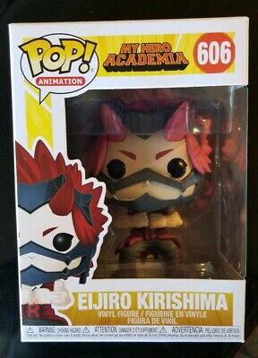 Funko Pop! Eijiro Kirishima #606  My Hero Academia Mint