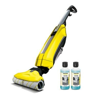 Karcher FC5 Hard Floor Cleaner with 2x 500ml Detergent 2 IN 1 Vacuums and washer