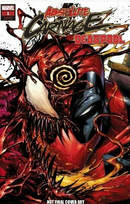 Absolute Carnage Vs Deadpool #1 Tyler Kirkham Variant Marvel Comics