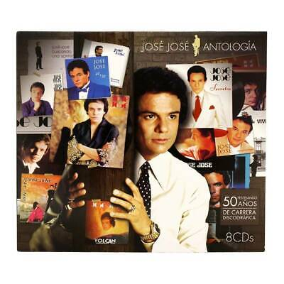 NEW-Jose Jose ANTOLOGIA 8 CD's 888750878120 NOW SHIPPING!
