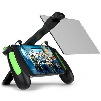 VR Shinecon B06 Phone Holder Gamepad Double Mirror Screen Amplifier for PUBG Mob