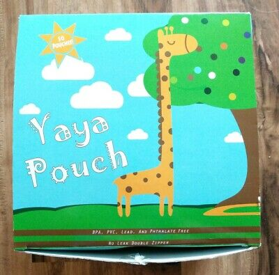 NEW 26 Yaya Reusable Baby Food Pouches 5 oz Refillable Squeeze BPA Free