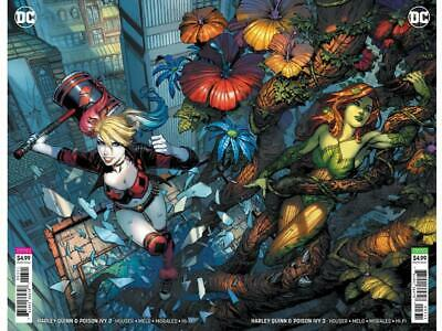 HARLEY QUINN & POISON IVY #3 David Finch Connecting Variants Card Stock 11/13