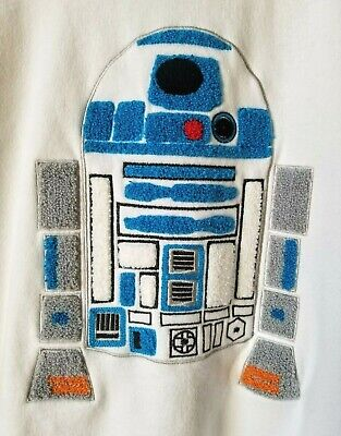 Very Cool R2-D2 Sweatshirt. STAR WARS. Large. Perfect. Great embroidery