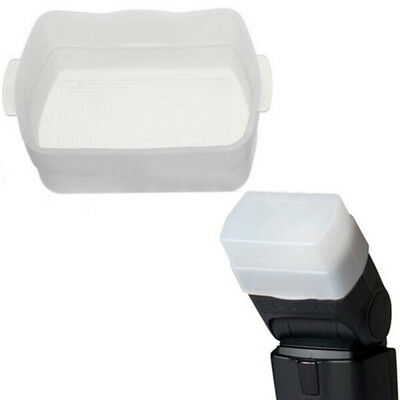 Soft diffuser flash box bounce cap soft box cover for canon 430ex ii ZF|
