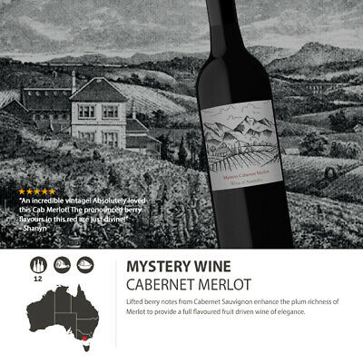Incredible Mystery Cabernet Merlot Red Wine Blend at unbelievable price Labelled