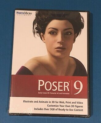 Poser 9 for Windows/Mac
