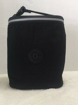 Kipling Black Insulated Travel Case Baby Bottle Case NWT