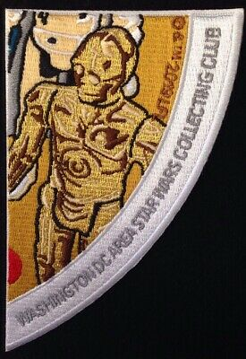 Star Wars Celebration Chicago 2019  Hoth Circle C3PO DC Collecting Club Patch