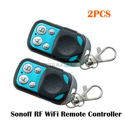 2x Sonoff Wireless WIFI Remote Controller 433MHz RF Remote Controller For Home