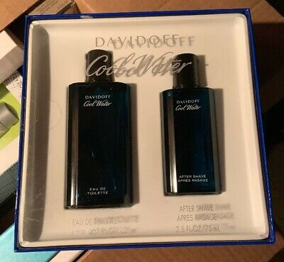 Cool Water by Davidoff 2pc Gift Set 4.2 oz Cologne + 2.5 oz After Shave for Men