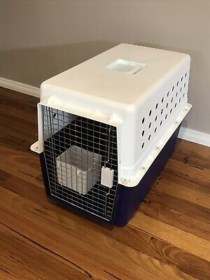 Dog Cat Animal Portable Crate Pet Carrier Travel Transport Airline Approved