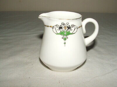 Shelley Art Nouveau Dorothy Shaped Abstract Jug  Truly Stunning