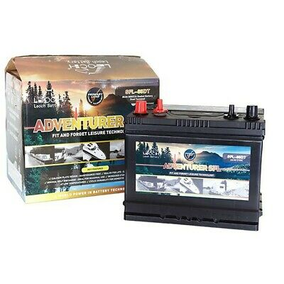 12V 130Ah Leoch Adventurer Dual Terminal Leisure Battery (Sfl-130Dt)