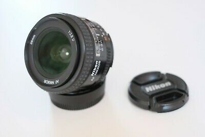 Nikon 28mm f2.8 AFD - Wide Andle Prime Lens - Excellent Condition - Both Caps