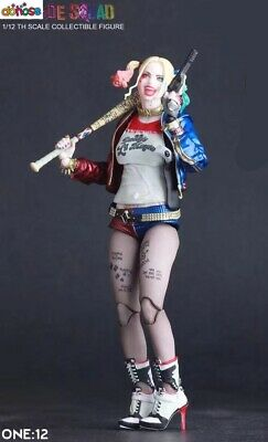 Crazy Toys DC Comic Harley Quinn 6'' Suicide Squard Action Figure Statue Model