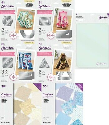 Gemini Double Sided Box Dies & Gemini Cutting Plates - Crafter's Companion