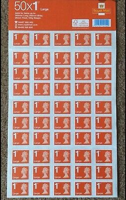 Brand New!Royal Mail 50 1st Class Stamps
