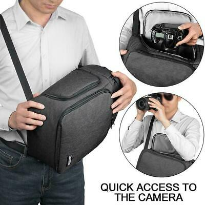Camera Bag Case Waterproof Sling Backpack For Canon Sony Nikon DSLR I2X9