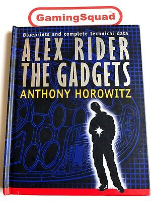Alex Rider The Gadgets, Anthony Horowitz HB Book, Supplied by Gaming Squad