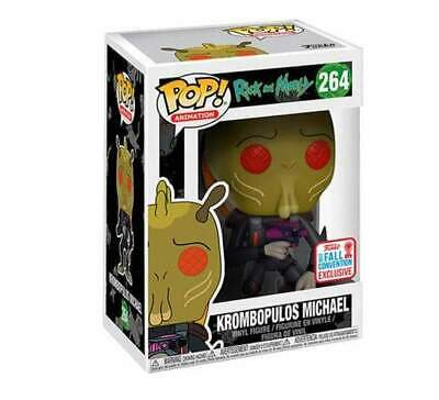 Funko Pop! Animation #264 Rick and Morty Krombopulos Michael NYCC NOT MINT