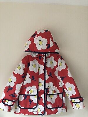 Mini Boden Girls Coat 5-6 Very Good Condition