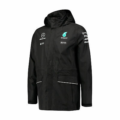 Men's F1 Mercedes AMG Petronas Hugo Boss Team Waterproof Jacket Size XS / S