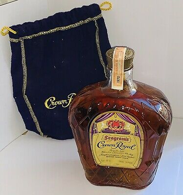 Crown Royal Seagram's 1970