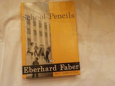 Vintage Eberhard Faber Princess  Pencils Lot OF 36 IN BOX 1396 F FIRM