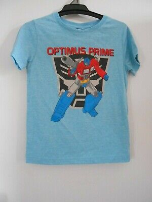 OPTIMUS PRIME Blue Tshirt NWT- 7 COMBINED POSTAGE AVAILABLE