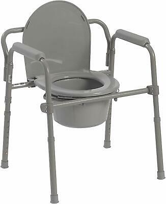 Cool Adult Toilet Seat Potty Commode Chair Bedside Folding Pabps2019 Chair Design Images Pabps2019Com