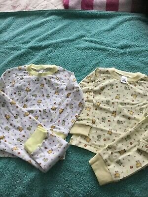 Bundle 2 Pairs Girls Pyjamas , Age 18-24 Mnths , From Bonny , Theme Teddy Bears