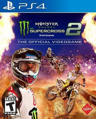 Monster Energy Supercross - The Official Videogame 2 - PlayStation 4