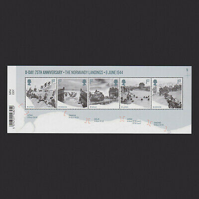2019 D-Day Miniature Sheet with Barcode
