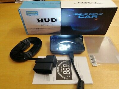 LED Headup Display HUD - OBD2 - Plug&Play - NEU & OVP!!!