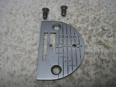 Singer 66 99 99K 185K 185J 192K Sewing Machine Graduated Needle Plate 32783 Rare