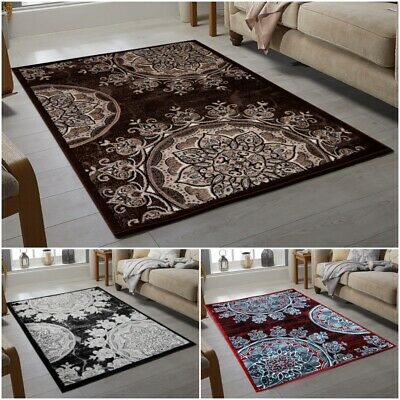 Modern Flowery Small To Large Area Rugs 12Mm Thick Pile Best Quality Cheap Rug