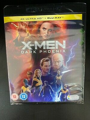 X-Men: Dark Phoenix - 4K UHD Ultra HD  Blu-ray - Brand New & Sealed