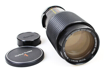 70-210mm F/3.5 Vivitar Series 1 Macro Focusing, Auto Zoom Lens for Canon FD