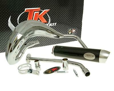 Auspuff TURBO KIT Bufanda RQ Chrom - Yamaha DT50 03