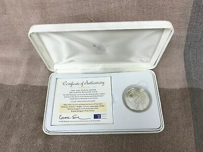 Royal Mint 2005 1 Ounce Fine Silver Britannia Bullion Coin With Certificate #274