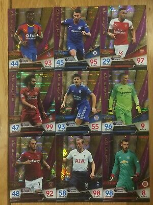 Topps Match Attax ULTIMATE 2018/2019 PL Elite Cards x9 Cards Job Lot