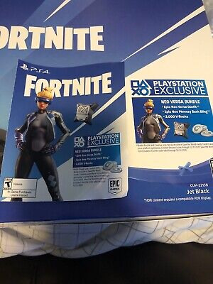 Fortnite Neo Versa Skin + 2000 Vbucks Playstation PS4 USA
