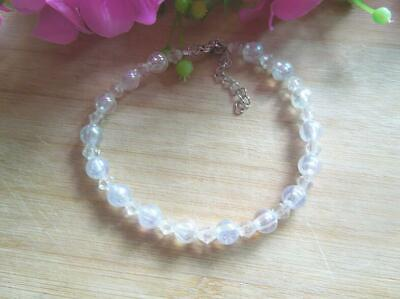Adjustable Cat Dog Collar  white Pearl Necklace Pet Jewelry Decor