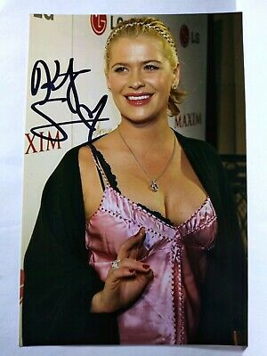 KRISTY SWANSON Authentic Hand Signed Autograph 4X6 Photo - SEXY ACTRESS