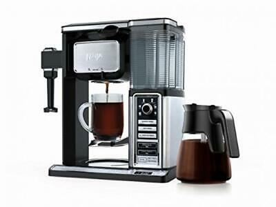 Ninja CF091C Coffee Bar Glass Carafe System, Black & Stainless Steel