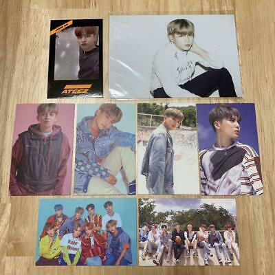 ATEEZ Jongho Trading Card Official Photo Set from japan K-POP Asia